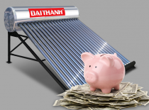 Bài toán kinh tế khi dùng máy nước nóng năng lượng Mặt Trời